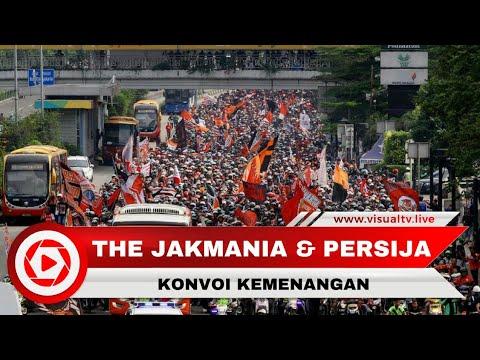 Konvoi Kemenangan Persija di Piala Presiden, Jakmania Penuhi Jalan Jakarta