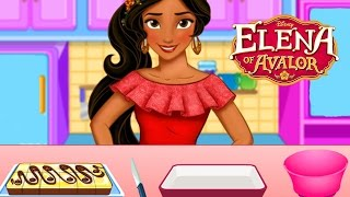 Disney Princess Elena Of Avalor Cooking Delicious Cake Amazing Game For Girls