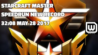 Starcraft Master SPEEDRUN - 32:08 New WORLD Record! (May 28 2017)