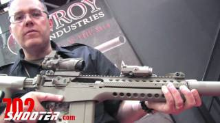 Troy Industries CAR14 at 2011 SHOT Show