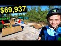 10 YEAR OLD KID BUYS WORLD'S BEST BACKYARD SKATEPARK!