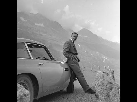 GOLDFINGER - Bond Car Chase Through Furka Pass in Switzerland