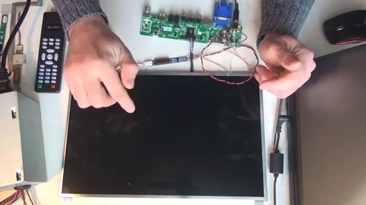 Схемы lcd телевизоров, ремонт телевизоров