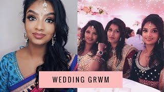 GRWM Tamil/Indian Traditional Wedding | Get Ready With me | Saree