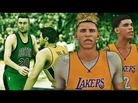 NBA 2K17 MyCAREER LaMelo Ball #8 - Lonzo Ball Joins The Team!! G.Hayward Boston Debut!