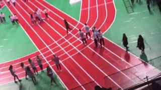 170116 TWICE (OH MY GIRL'S BIGGEST FAN) DANCING TO WINDY DAY IN ISAC