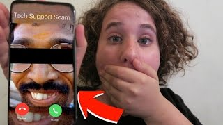 SCAMMER PRANK CALL! Prank Calling Fake Microsoft Tech Support!