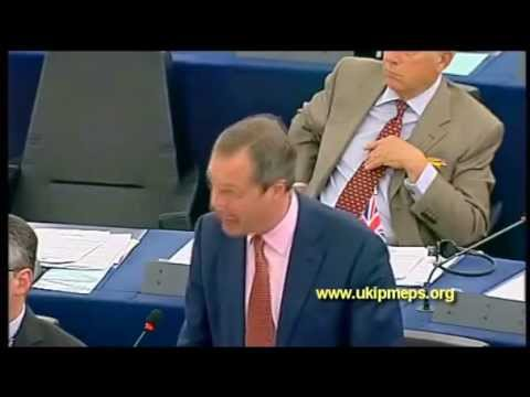 "Nigel Farage: ""This EU is the New Communism. It is Power without Limits."""