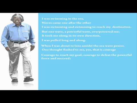 Indomitable Spirit  - Poem of Dr. APJ Abdul Kalam