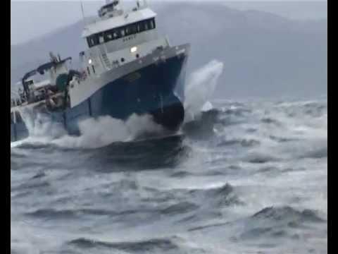 Extreme Weather On The Norwegian Coast Youtube