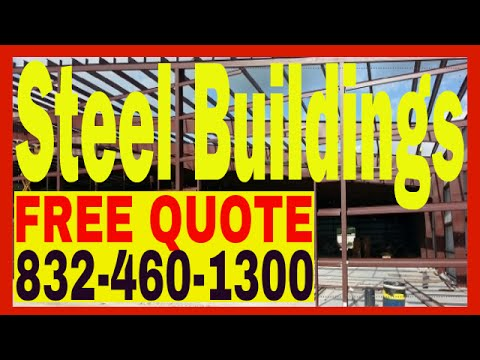 Commercial Steel Buildings Contractor|Tilt Wall | Overhead Cranes|Houston TX