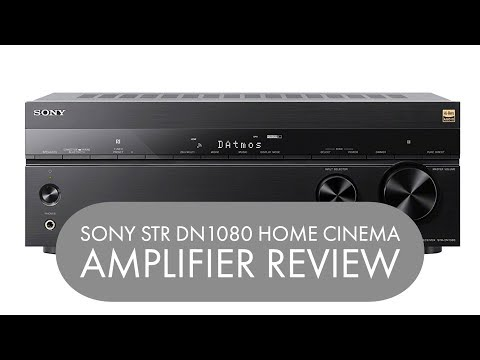 SONY STR DN1080 HOME CINEMA AMPLIFIER REVIEW   Henry Reviews