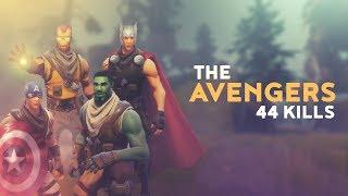 THE AVENGERS - 44 KILLS (Fortnite Battle Royale)