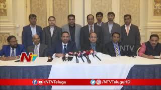 American Telugu Association ( ATA ) Elects Parmesh Bheemreddy as New President for 2019-20 | NTV