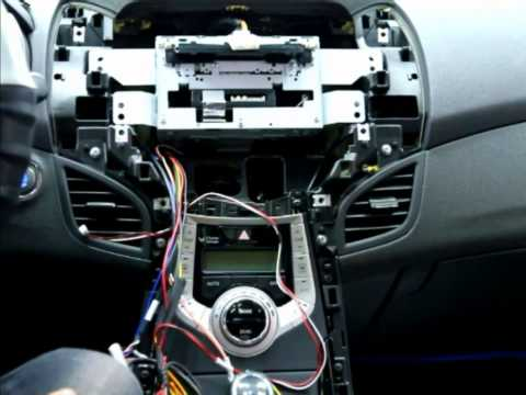 NAVMAX 8inch Installation video for Hyundai New Elantra by NAVITECH KOREA
