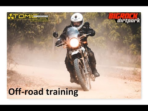 Off-road training organised by Atomic MotorSports in association with BigRock dirt park