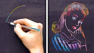 28 MESMERIZING ART TECHNIQUES TO RELAX AFTER HARD DAY