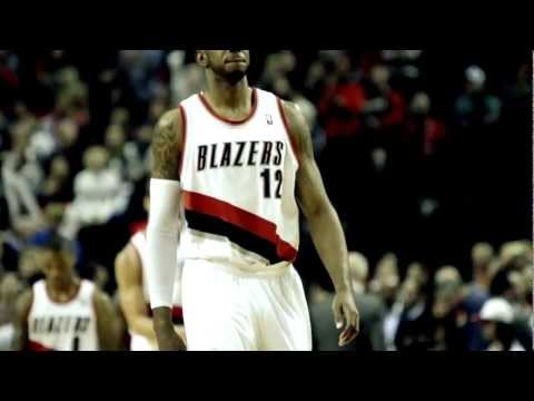 Trail Blazer LaMarcus Aldridge All-Star 2013
