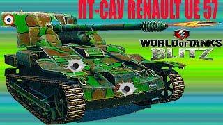 WoT Blitz обзор ПТ-САУ  UE 57 Для новичков В погоню за AMX французская ветка World of Tanks Blitz#36