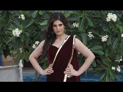 Sexy Zarine Khan Shows Off Her Sexy Avatar