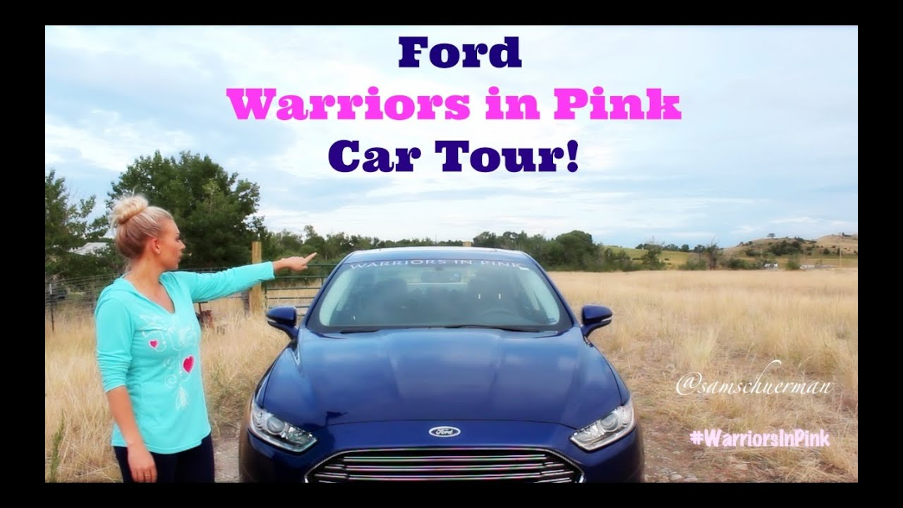 ford warriors in pink car tour youtube. Cars Review. Best American Auto & Cars Review