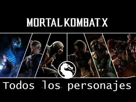 Los 10 mejores personajes de mortal kombat