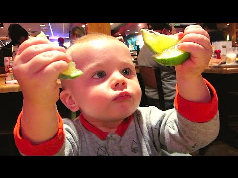 HOW MANY LIMES CAN THIS BABY EAT?!