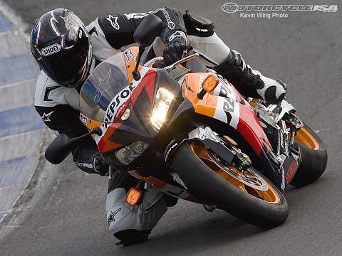 2008 Honda CBR1000RR First Ride - MotoUSA
