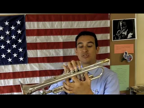 Como tocar la trompeta- La Afinacion