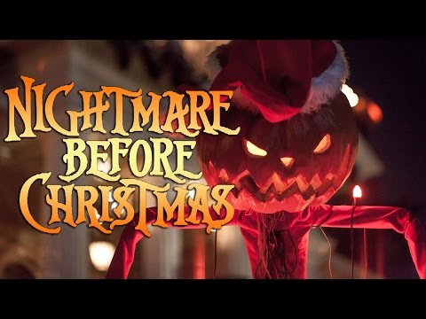 Nightmare Before Christmas Ride at Disneyland 2014