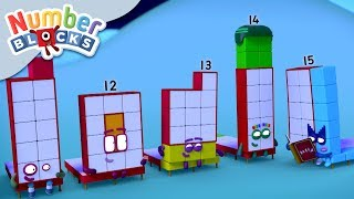 Numberblocks - Bed Time Stories | Learn to Count