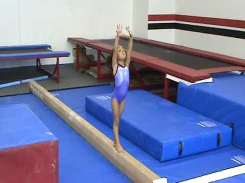 Amazing 4 year old Gymnast Konner McClain