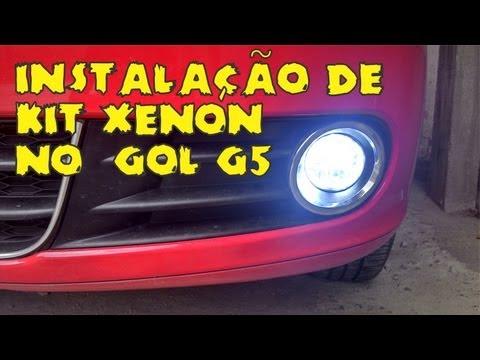 Instalação de Kit Xenon no Gol G5