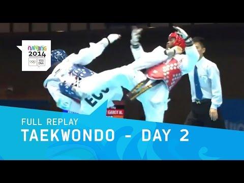 Taekwondo - Qualifications Men -55 Kg women -49 Kg | Full Replay | Nanjing 2014 Youth Olympic Games video