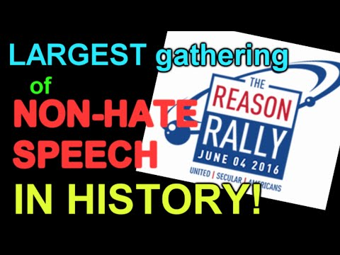 Reason Rally, and American Humanist Ass. SJW infestation!