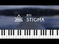 방탄소년단 뷔 (BTS V) - Stigma Piano Cover