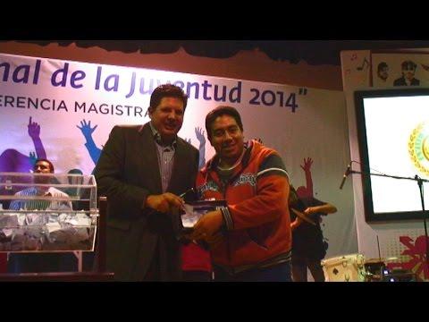 Diputado David López celebró a la juventud en su dia
