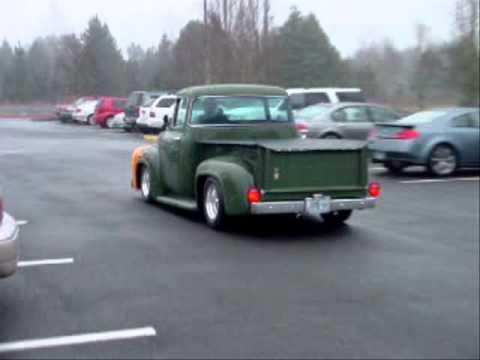1956 Green Ford F100 Big Window Sold Youtube