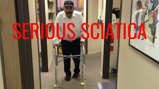 Ridiculous SCIATICA relieved in ONE VISIT by Orange County Chiropractor
