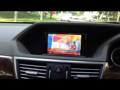 Digital Mobile TV in Mercedes-Benz