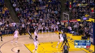 1st Quarter, One Box Video: Golden State Warriors vs. Utah Jazz