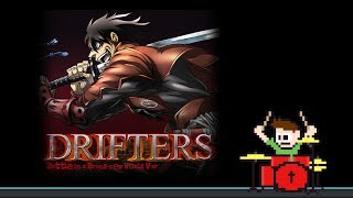 Drifters Anime Opening (Blind Drum Cover) -- The8BitDrummer