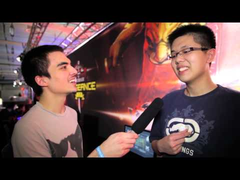 DreamHack Winter 2012 - Day 3: Interview with EternaLEnVy