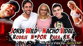 Jordi Wild y Nacho Vidal juntos en un ¡¡rodaje N0P0R!!   Mi dura vida