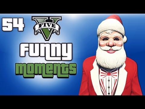 Gta 5 Next Gen Funny Moments Ep. 54 (christmas Dlc, Present Trolling, Santa Delirious ) video