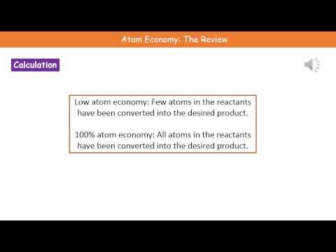 C3 10   Atom Economy Foundation Review