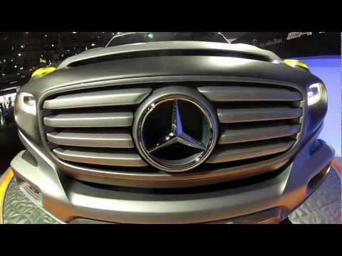 2012 LA Auto Show Highlights -- New Mercedes-Benz Vehicle Debuts