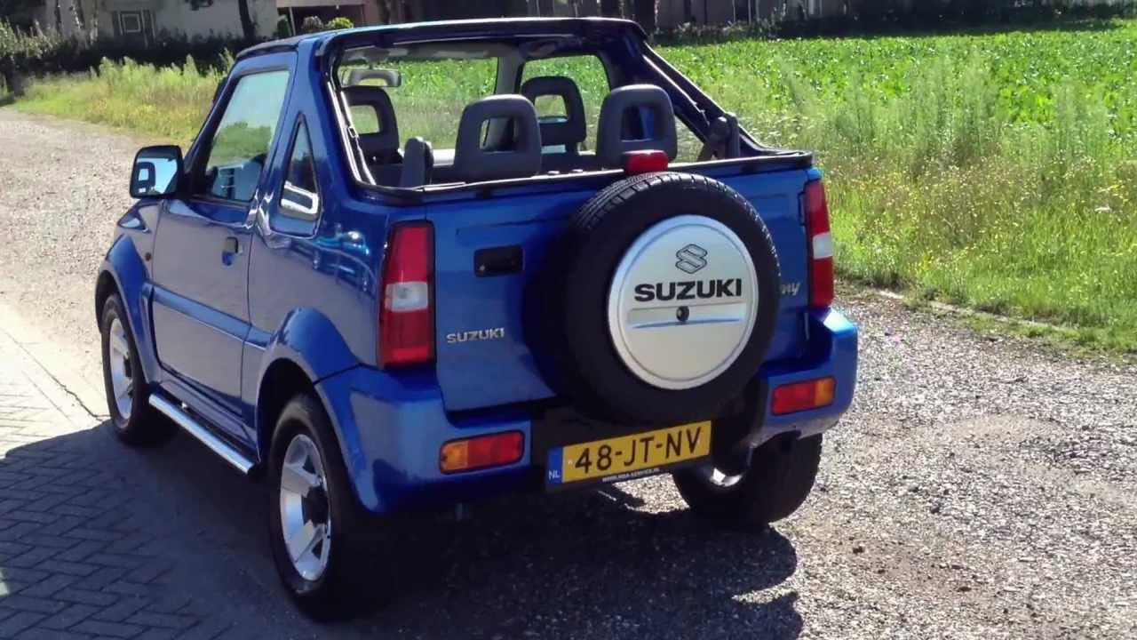 suzuki jimny 4x4 cabrio youtube. Black Bedroom Furniture Sets. Home Design Ideas