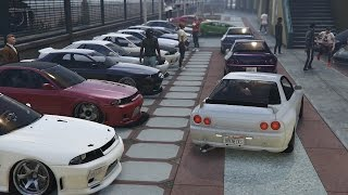 GTA 5 Online Import/Export Car Meet & Cruise