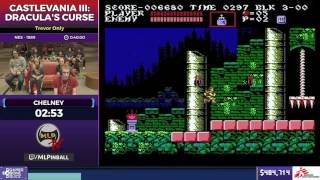 Castlevania III: Dracula's Curse by Chelney in 31:54 - SGDQ2017 - Part 66